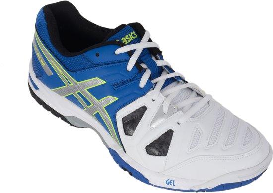 Asics Gel-Game 5 Tennisschoenen - Maat 42.5 - Mannen - blauw/wit/