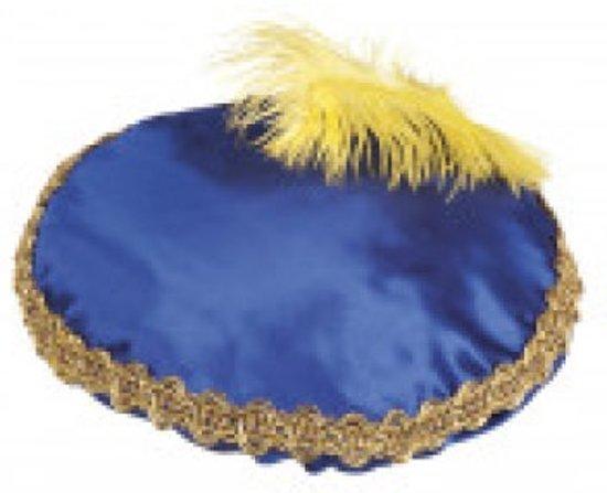 Baret Piet blauw