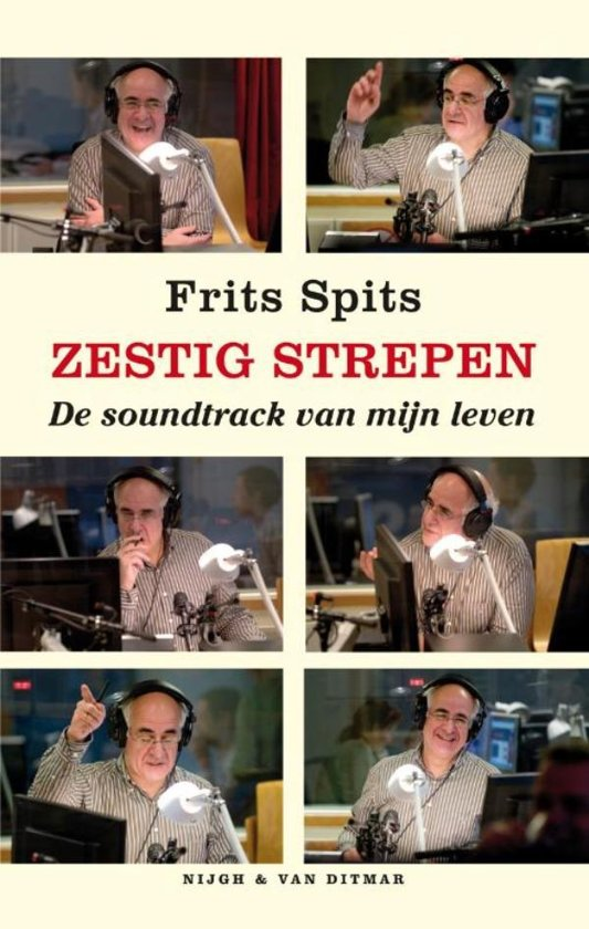 Boek cover Zestig strepen van Frits Spits