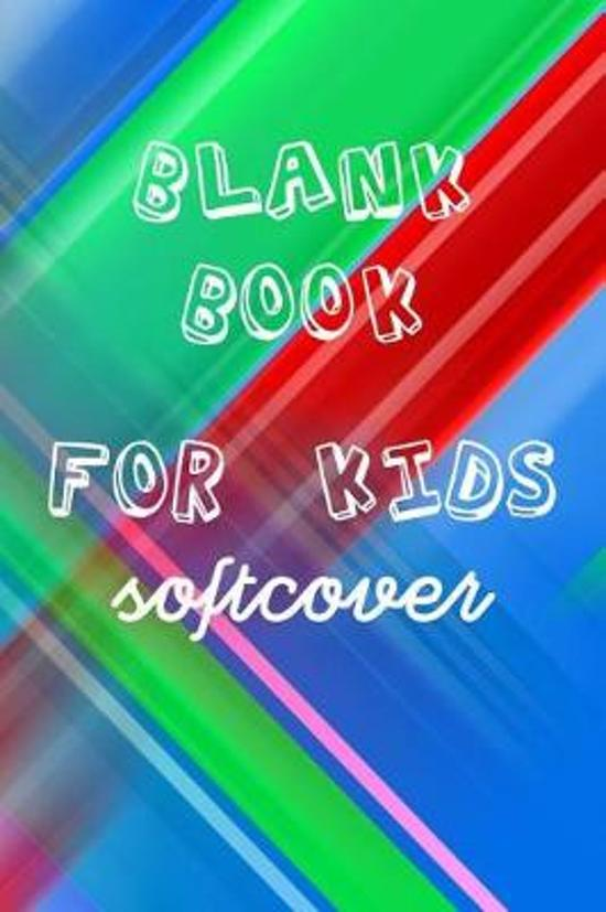 Blank Book for Kids Softcover