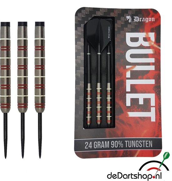Dragon darts – Bullet - 90% tungsten – 26 gram – dartpijlen