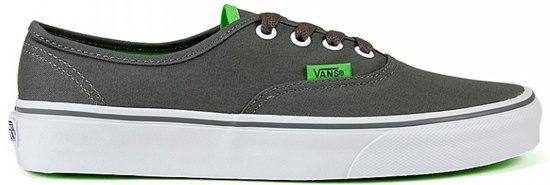 vans authentic grijs