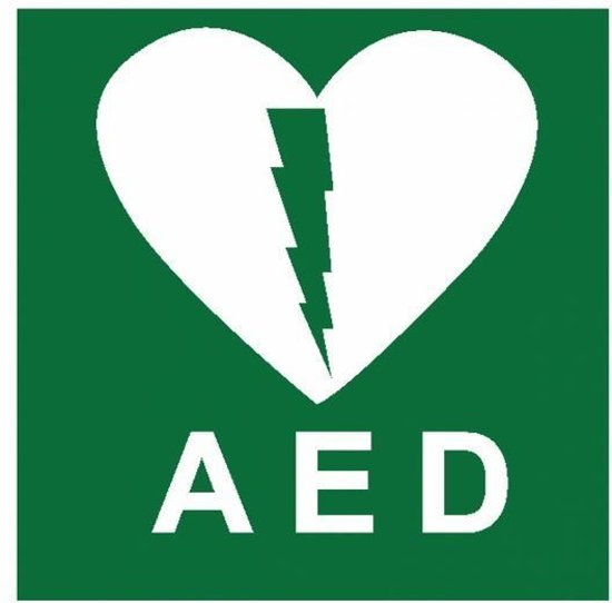 Pictogram AED PVC