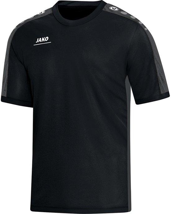 Jako - T-Shirt Striker Junior - zwart/grijs - Maat 164