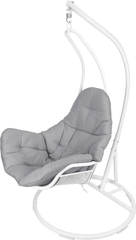 Witte Standaard Voor Hangstoel.Hangstoel Met Standaard Wit