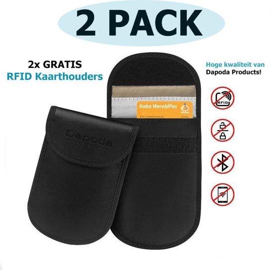c0f2dd936a9 Autosleutel RFID Anti-Diefstal Beschermhoesjes (2PACK) + 2 RFID block  betaalpas sleeves