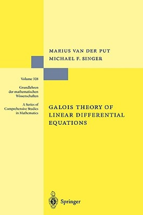 Galois Theory of Linear Differential Equations