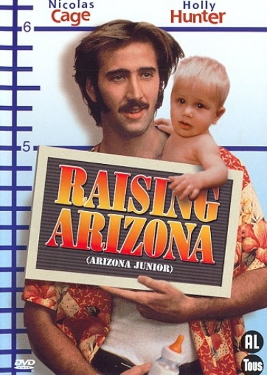 Cover van de film 'Raising Arizona'