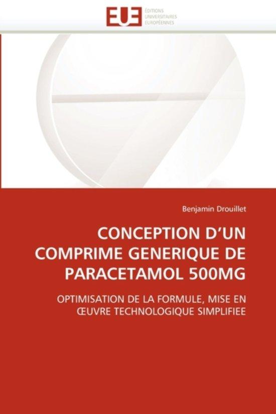 Conception D Un Comprime Generique de Paracetamol 500mg