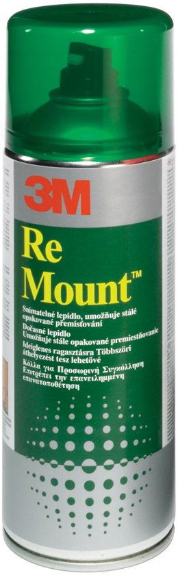 3M™ Scotch-Weld Re Mount, Herpositioneerbaar, Transparant, 400 ml
