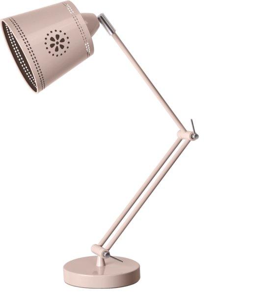 LIEF! Lifestyle tafellamp bureaulamp taupe