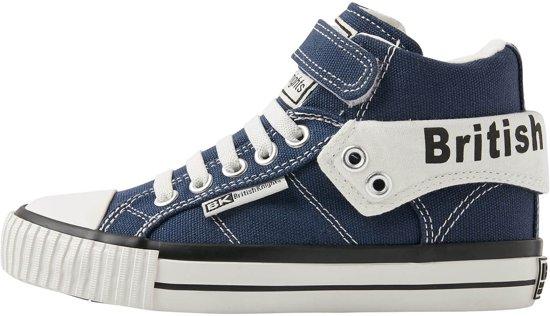 3167e59bf05 British Knights ROCO Jongetjes sneakers hoog - Donker blauw - maat 35