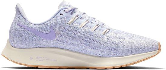 Nike Air Zoom Pegasus 36 Hardloopschoenen Dames Sportschoenen Maat 40 Vrouwen paarswit
