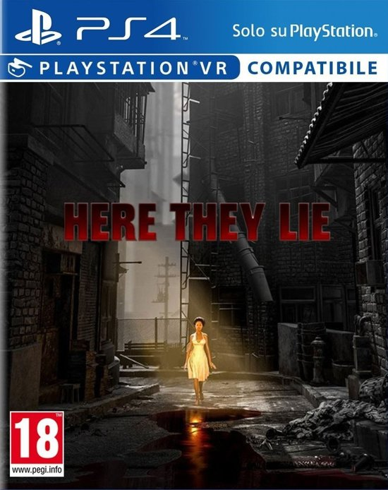 Here They Lie VR PlayStation 4