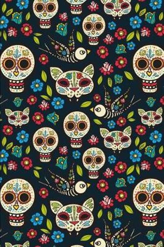 Day Of The Dead Pattern Sugar Skull Santa Muerte 01