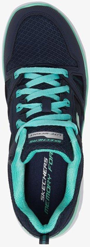 Skechers Summits New World Dames Sneakers - Blauw