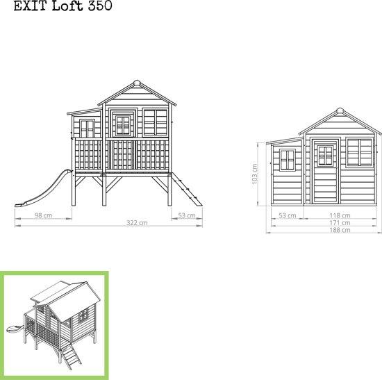 EXIT Loft 350 Speelhuisje