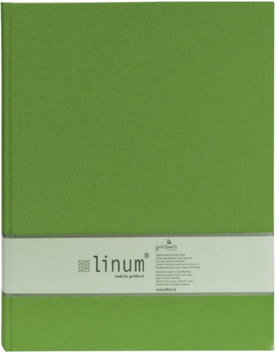 GOLDBUCH GOL-65921 Linum Gastenboek 22/30 groen 921