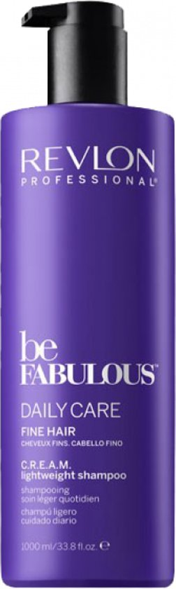 Revlon Be fabulous daily care fine hair lightweight shampoo 1000ml