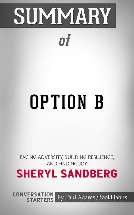 Summary of Option B