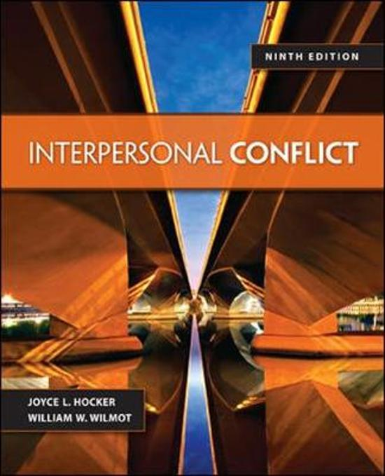 the notebook interpersonal conflict Managing interpersonal conflicts conflict in relational systems conflict in from management ecmm801101 at universitas indonesia.