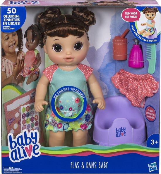 Baby Alive - Plas En Dans Babypop - Brunette