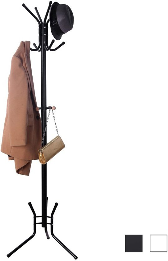 Bolcom Vintage Design Kapstok Rek Staand Met 15 Kleding Haken