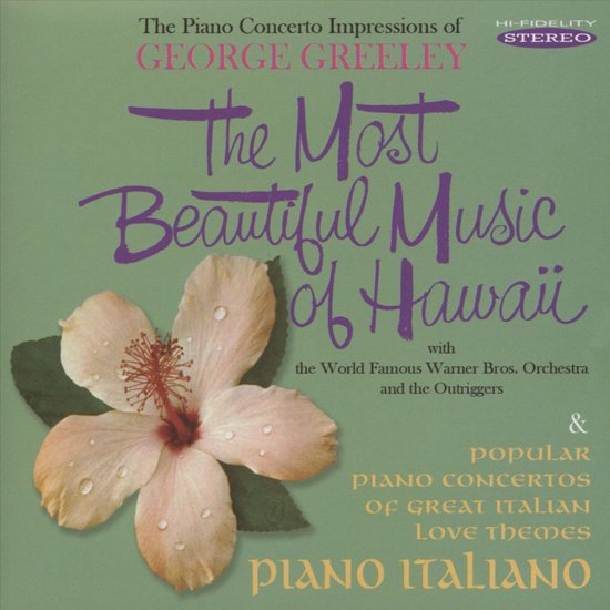The Most Beautiful Music of Hawaii/Piano Italiano