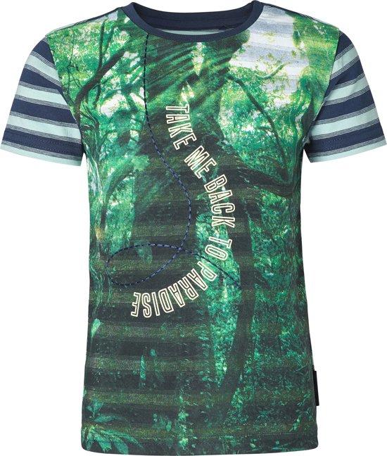 Noppies Jongens T-shirt - Donkerblauw - Maat 80