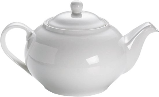 Maxwell & Williams White Basics Round Theepot - 1.3 l