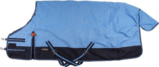 Epplejeck Tolga 100gr - Winterdeken - Lichtblauw/Donkerblauw - mt. 155cm