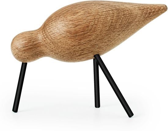 Normann Copenhagen - Shorebird M - Decoratie - Beeld - Vogel - Kunst - Zwart