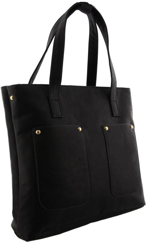 zwarte grote tas