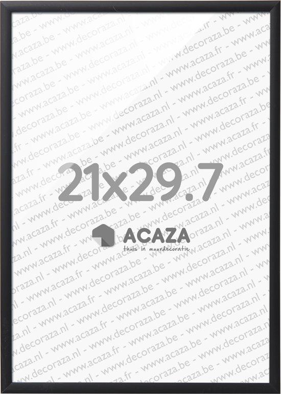 Fotolijst A4 Formaat.Acaza Solid Aluminium Fotolijst A4 21x 29 7cm Zwart