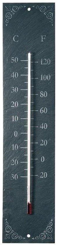BMPdesign Buitenthermometer op leisteen - Klassiek