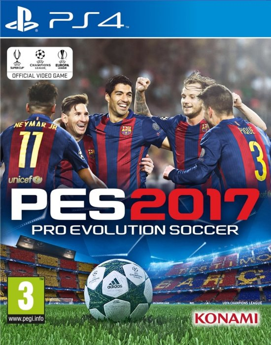 Pro Evolution Soccer (PES) 2017 /PS4