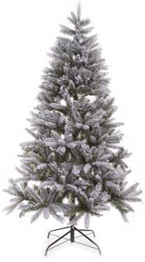 Kerstboom flocked pine mix 240cm