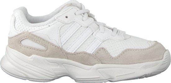 5ba2b86e22c bol.com   Adidas Meisjes Sneakers Yung-96 El I - Wit - Maat 24