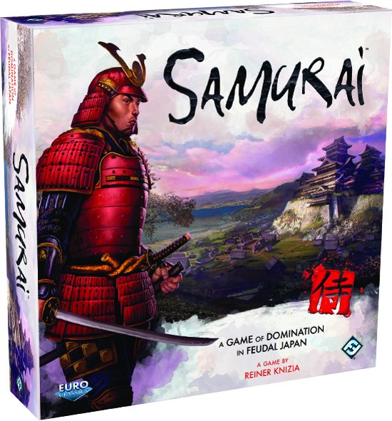 Afbeelding van het spel Samurai The Board Game