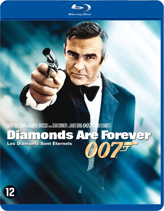 DVD cover van Diamonds Are Forever (Blu-ray)