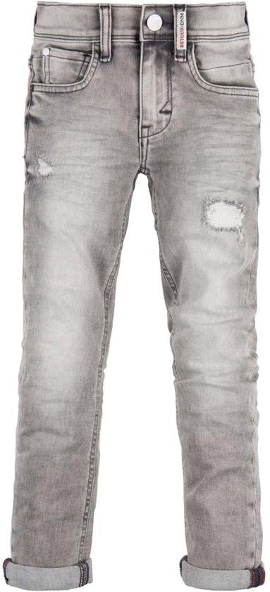 Retour Jeans Jongens Broek - Light grey denim - Maat 116