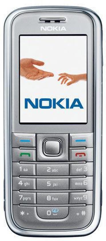 Nokia 6233 - Zilver