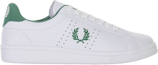 Chaussures Fred Perry Vert Pour Les Hommes 6Vp7eyLYI