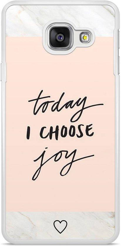 Samsung Galaxy A3 2016 hoesje - Choose joy
