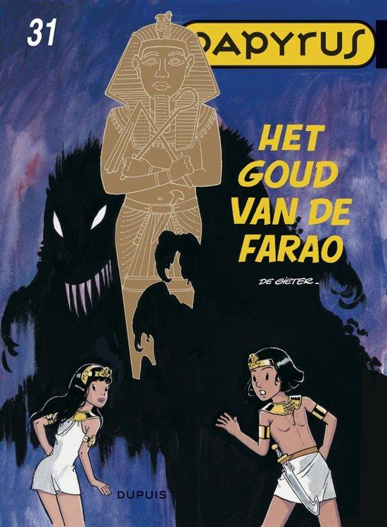 Cover van het boek 'Papyrus: 031 Het goud van de farao'