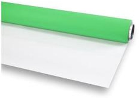 Bol foka vinyl groen wit mat m achtergrond rol