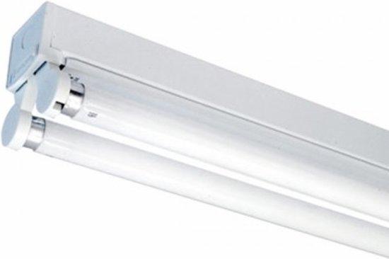 bol.com | Opbouw TL-armatuur voor 2 x LED tl-buizen 1200mm lengte ...