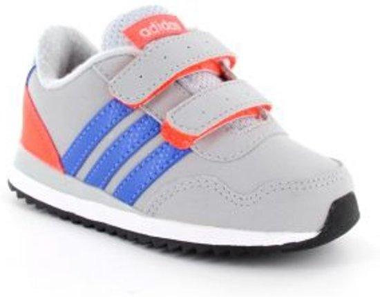 c0788b09326 bol.com | adidas V Jog Kids - Sneaker - Kinderen - Grijs - maat 18