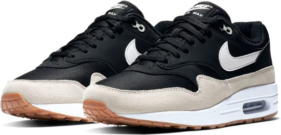 Nike Air Max 1 - Sneakers - Zwart Crème Wit - Heren - Maat bb82e6dba6f
