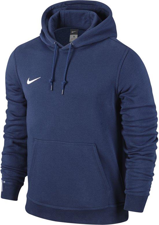 Nike Team Club Hooded Sweater Heren Sporttrui - Maat XL - Mannen - blauw
